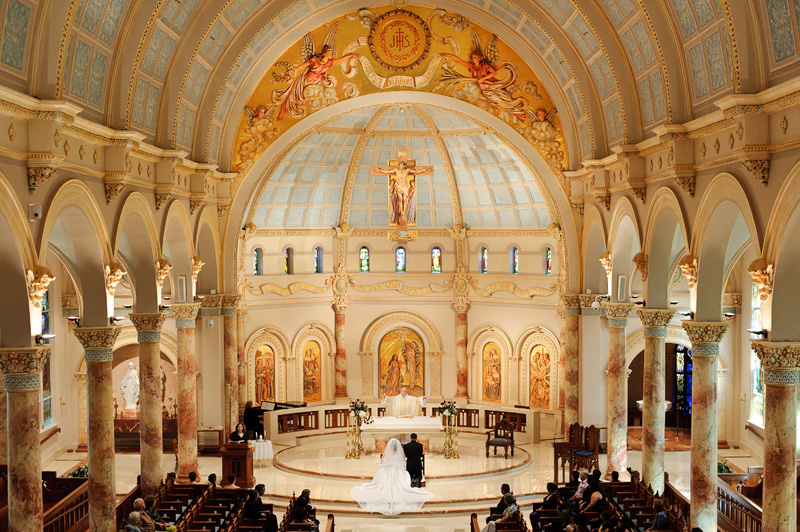 Uiw motherhouse chapel wedding