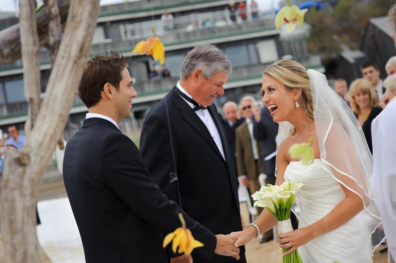 Montauk beach wedding